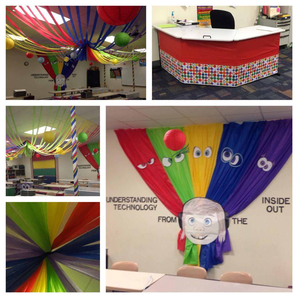 "Disney Pixar's ""Inside Out"" themed classroom Disney"