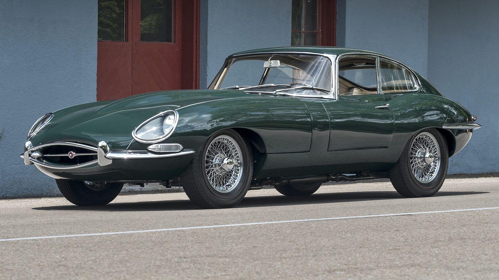 1967 Jaguar E Type Series 1 Fixed Head Coupe Presented As Lot F61 At Monterey Ca Jaguar E Type Jaguar Car Jaguar