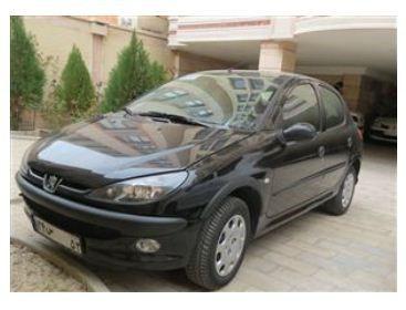 فروش خودرو پژو 206 تیپ 3