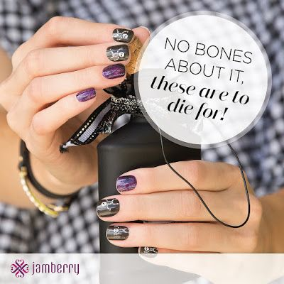 This Is Halloween!! | Nail wraps designs, Jamberry nail ...