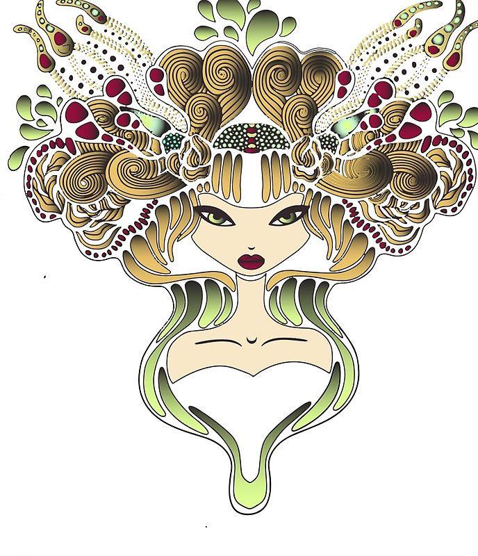 illustration Mélusine