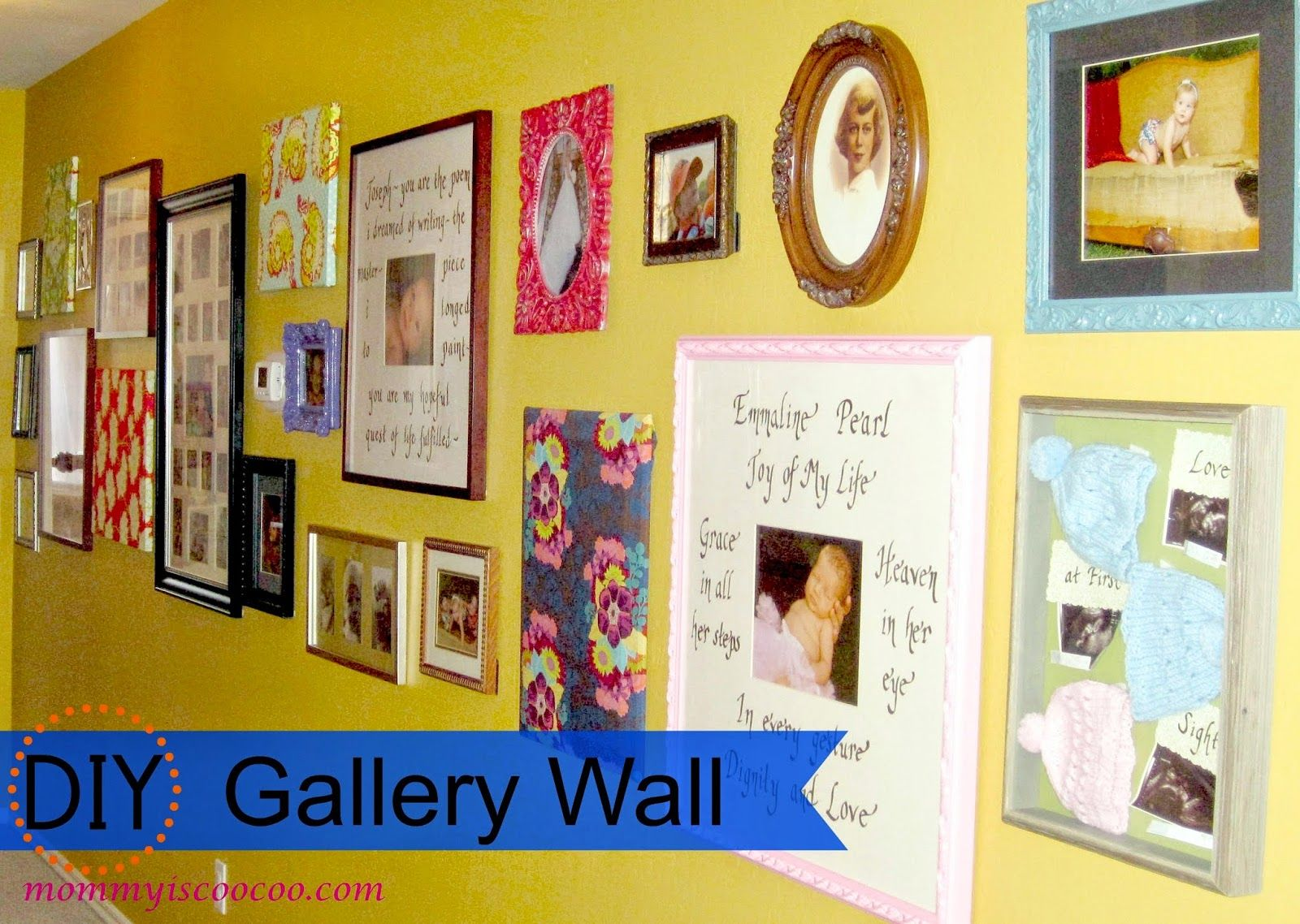 20 DIY Projects I Can\'t Wail to Show You   Gallery wall, Frames ...