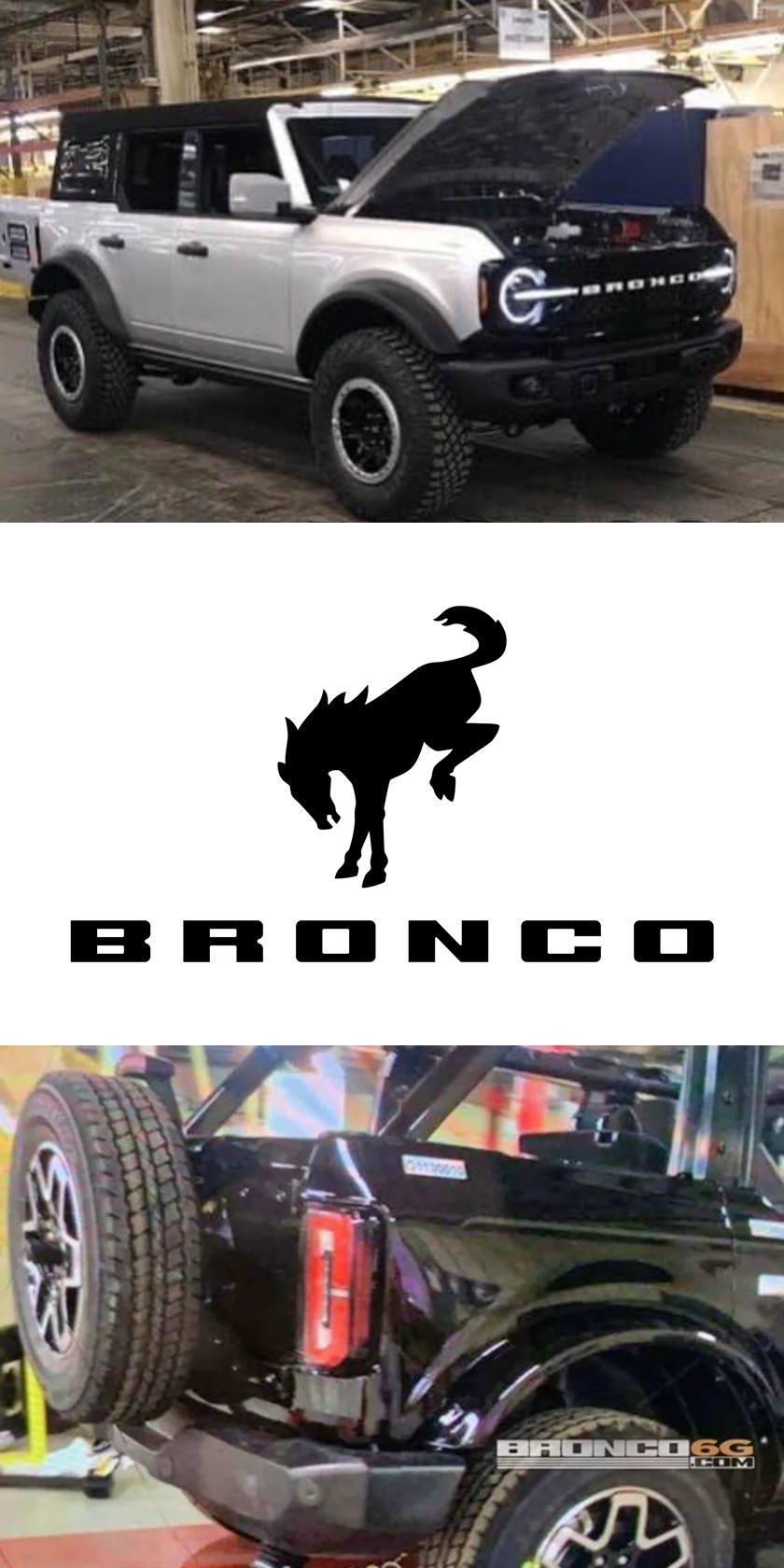 This Is It Best Leak Yet Of 2021 Ford Bronco In 2020 Ford Bronco Bronco Sports Bronco
