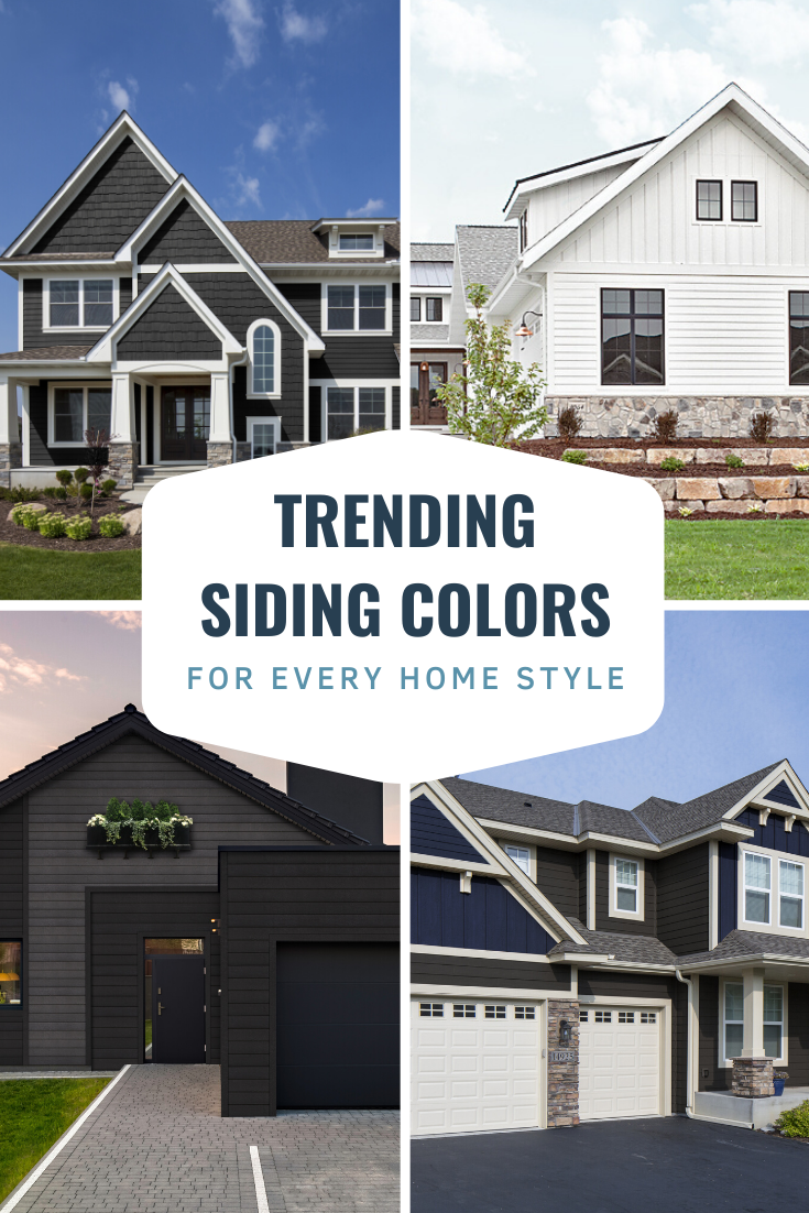 Popular Siding Colors For Every Home Style In 2020 Siding Colors Exterior Siding Colors Vinyl Exterior Siding