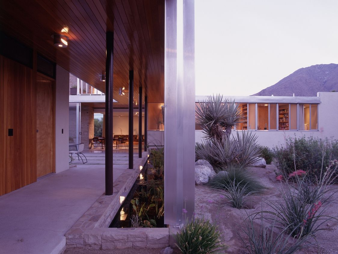 Lovely R Home Design Palm Desert Part - 9: Restoration : Kaufmann House, Palm Springs CA   Architect : Richard Neutra  (1946)