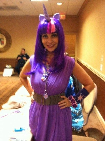Twilight Sparkle As Cosplayed By Tara Strong Cosplay