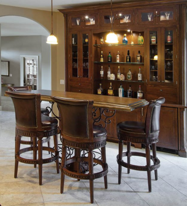 Remodeling A Kitchen With Tuscan Flavor Bars For Home