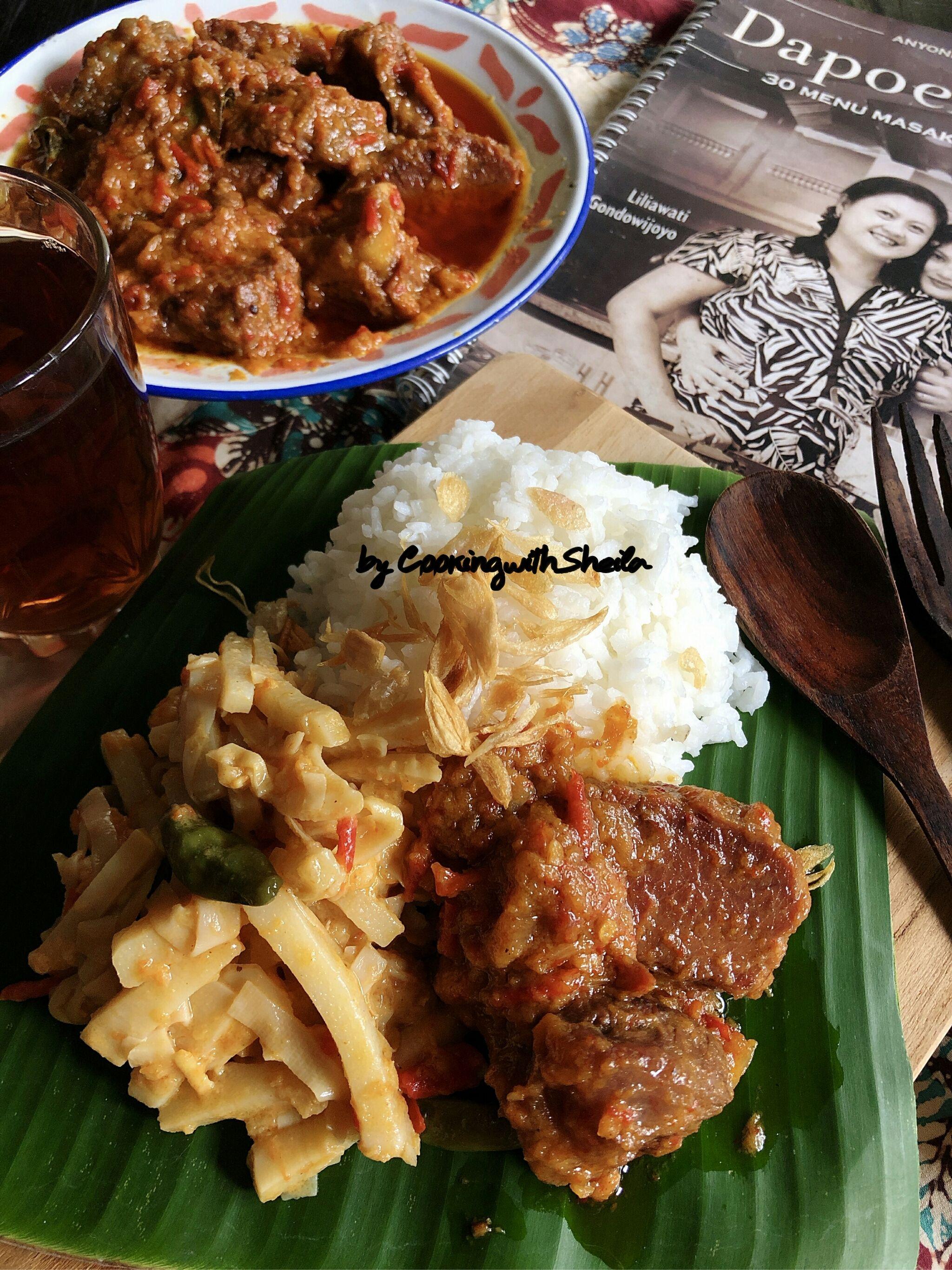 Sebelumnya Beberapa Minggu Yang Lalu Saya Share Menu Ayam Bumbu Rujak Berikut Versi Daging Sapi Saya Menggu Resep Daging Resep Masakan Asia Fotografi Makanan