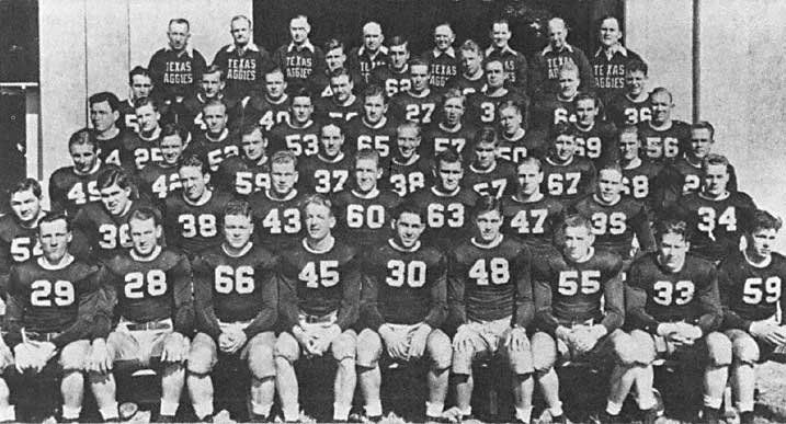 1939aggies Teamphoto 1939 Texas A M Aggies Football Fanbase Texas Aggies Aggie Football Texas A M
