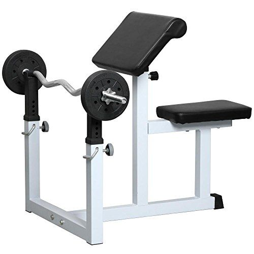 Topeakmart En957 Commercial Preacher Curl Weight Bench Seated Preacher Isolated Dumbbell Biceps You Can Find Ou Preacher Curls Weight Benches Home Made Gym