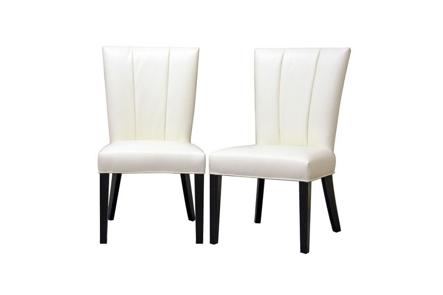 Janvier Off White Leather Modern Dining Chair Leather Dining Chairs Modern White Leather Dining Chairs Dining Chairs