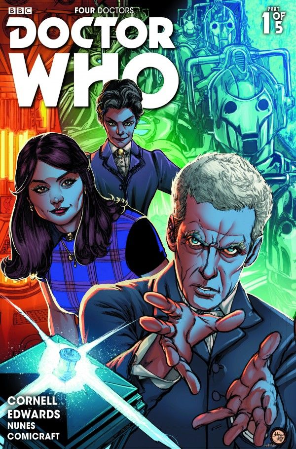 The first issue hits comic stores on Wednesday August 12, supported by the global Doctor Who Comics Day on Saturday August 15! Description from majorspoilers.com. I searched for this on bing.com/images