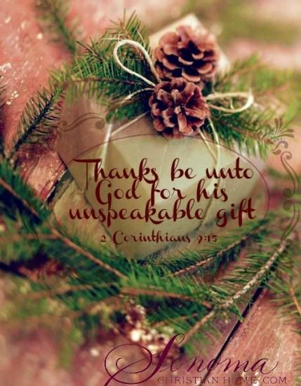 2 Corinthians 9:15 Beautiful