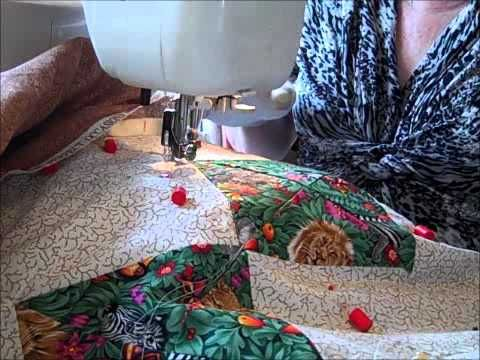 Beginner machine quilting with two basic quilting designs to start ... : beginner machine quilting - Adamdwight.com