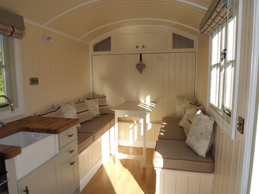 The Wall Bed Hut | Riverside Shepherd Huts