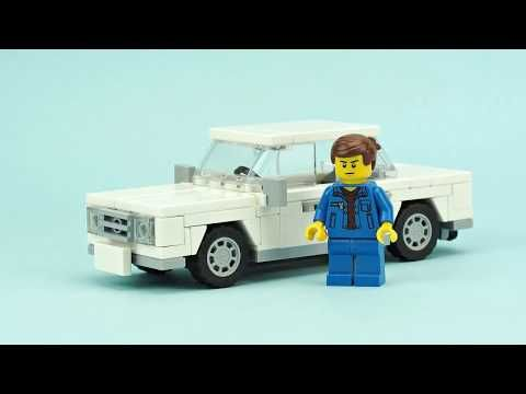 Lego Car Lada Moc Building Instructions Youtube Projects To