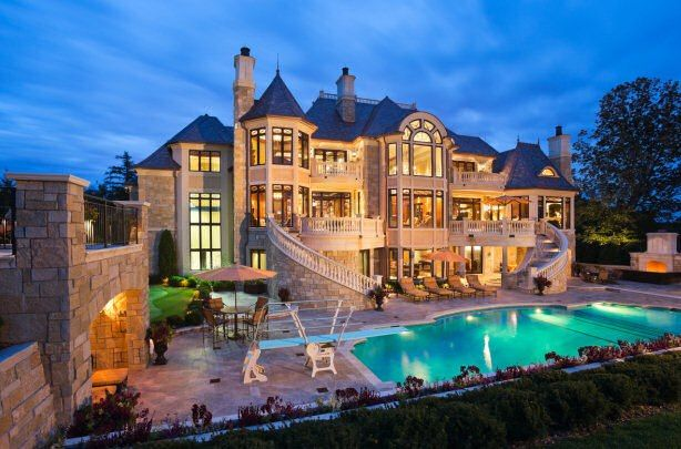 Modern Castle House Luxury Homes Dream Houses Mansions Dream Mansion