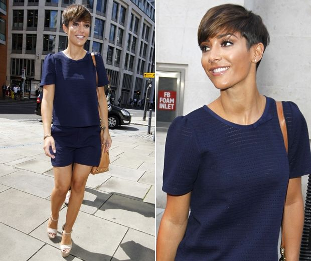 Frankie Sandford's navy blue co-ord: Shop now... http://lookm.ag/Gv1dIE