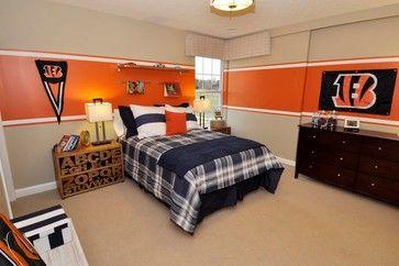 Teen S Cinci Bengals Bedroom M I Homes Of Columbus Sheffield