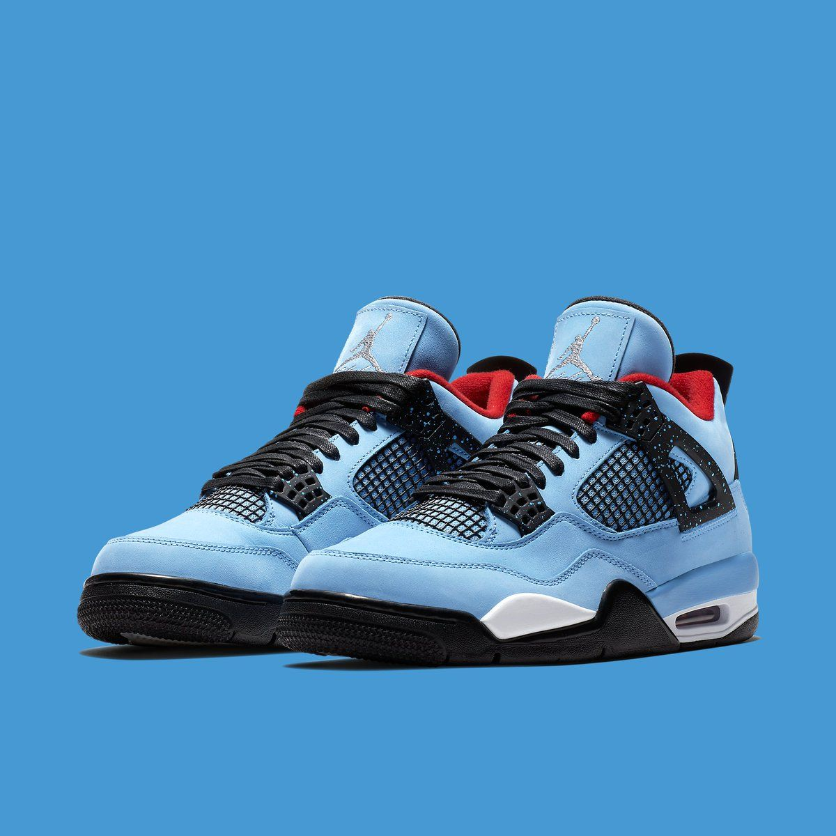 "The TrvisXX X Air Jordan 4 ""Oilers."" Releasing June 23"