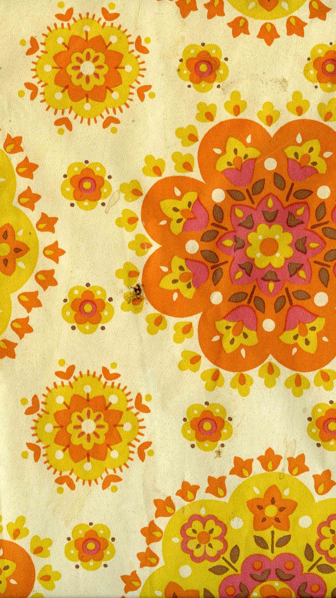 Vintage Hippie Phone Wallpaper Flower Phone Wallpaper Flower Wallpaper Retro Wallpaper