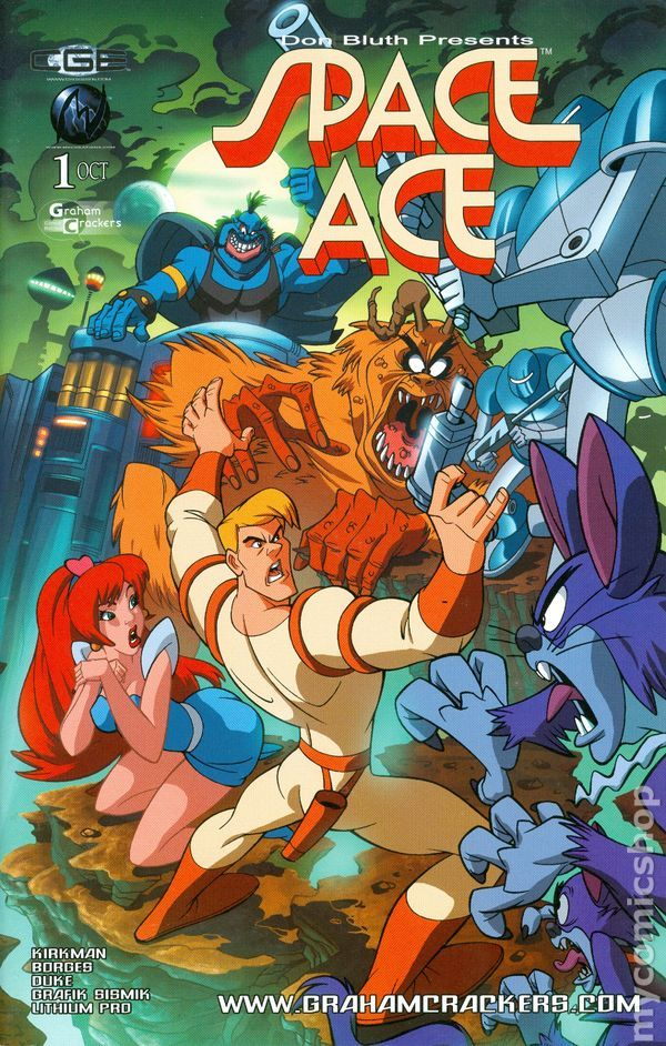 Space Ace Defender of the Universe (2003) 1B | Cartoon