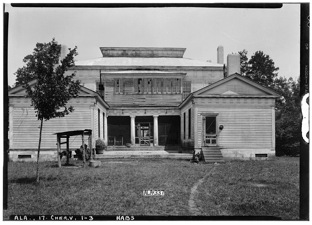Cunningham Plantation, Old Memphis Road (Gaines Trace Road ...