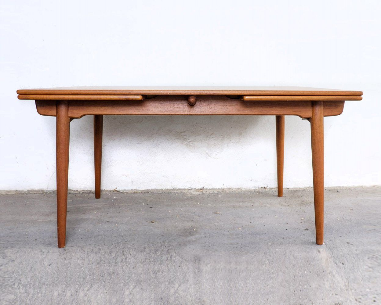 For Sale At 312 Teak Dining Table By Hans J Wegner For Andreas Tuck 1960s
