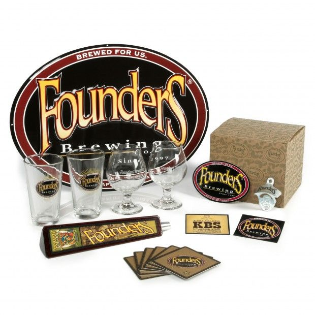 Founders Home Bar Gift Set Beer Gear Pinterest Bar