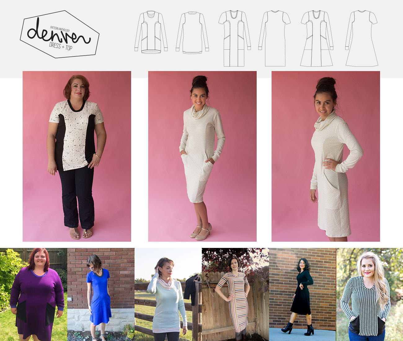 Pattern Anthology - The original sewing pattern design collaboration