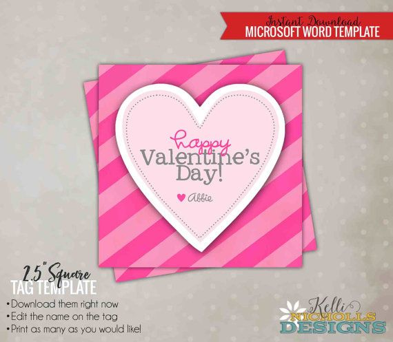 valentines card templates word - Thevillas - valentines card templates word