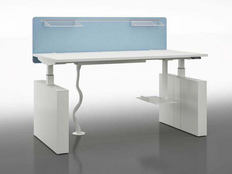 Schreibtisch elektrisch höhenverstellbar WINGLET | Klassiker Direkt ...