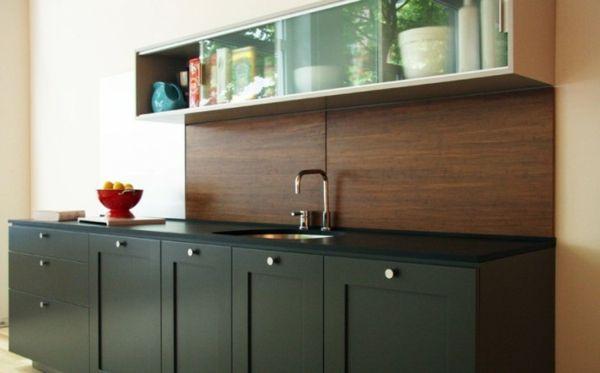 interessante küchenspiegel ideen - spritzschutz Ideen Pinterest - ideen für küchenspiegel