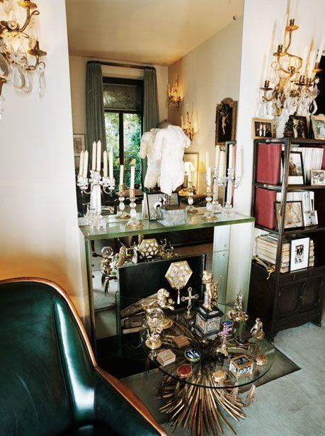 Yves saint laurent   parisian duplex vanity fair january also interior designs pinterest rh in