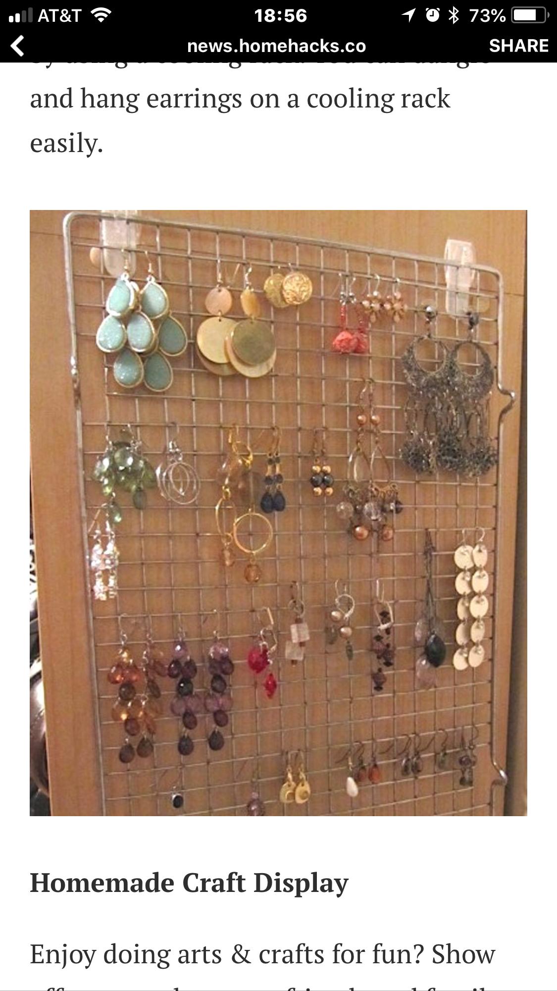Jewelry Storage Ideas Organizing Dollar Stores