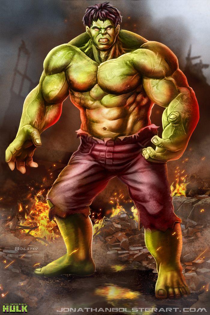 #Hulk #Fan #Art. (The Incredible Hulk) By: Mr-Donkeygoat. ÅWESOMENESS!!!™ ÅÅÅ+   https://s-media-cache-ak0.pinimg.com/564x/2e/7d/29/2e7d29ff593ad973cbd551f4707693aa.jpg
