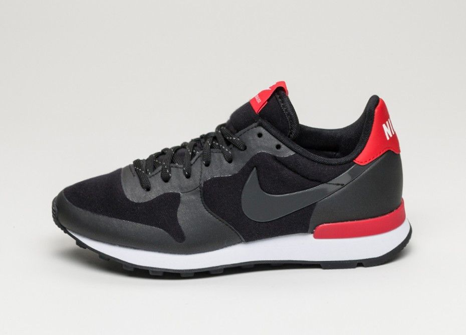 new arrival db55e 0c0b6 Nike Wmns Internationalist TP (Black   Black - Challenge Red - White)