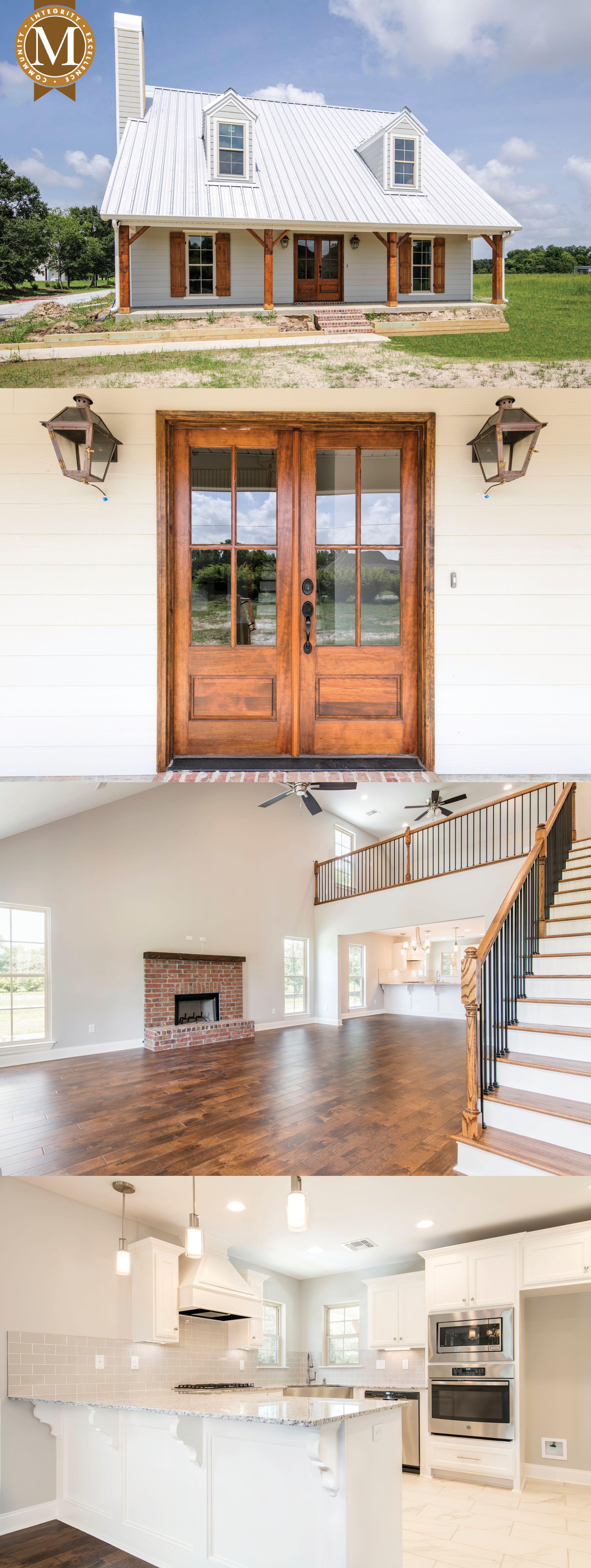 Acadia Bayou Floor Plan South Louisiana Home Builder Barn House Plans House Plans House