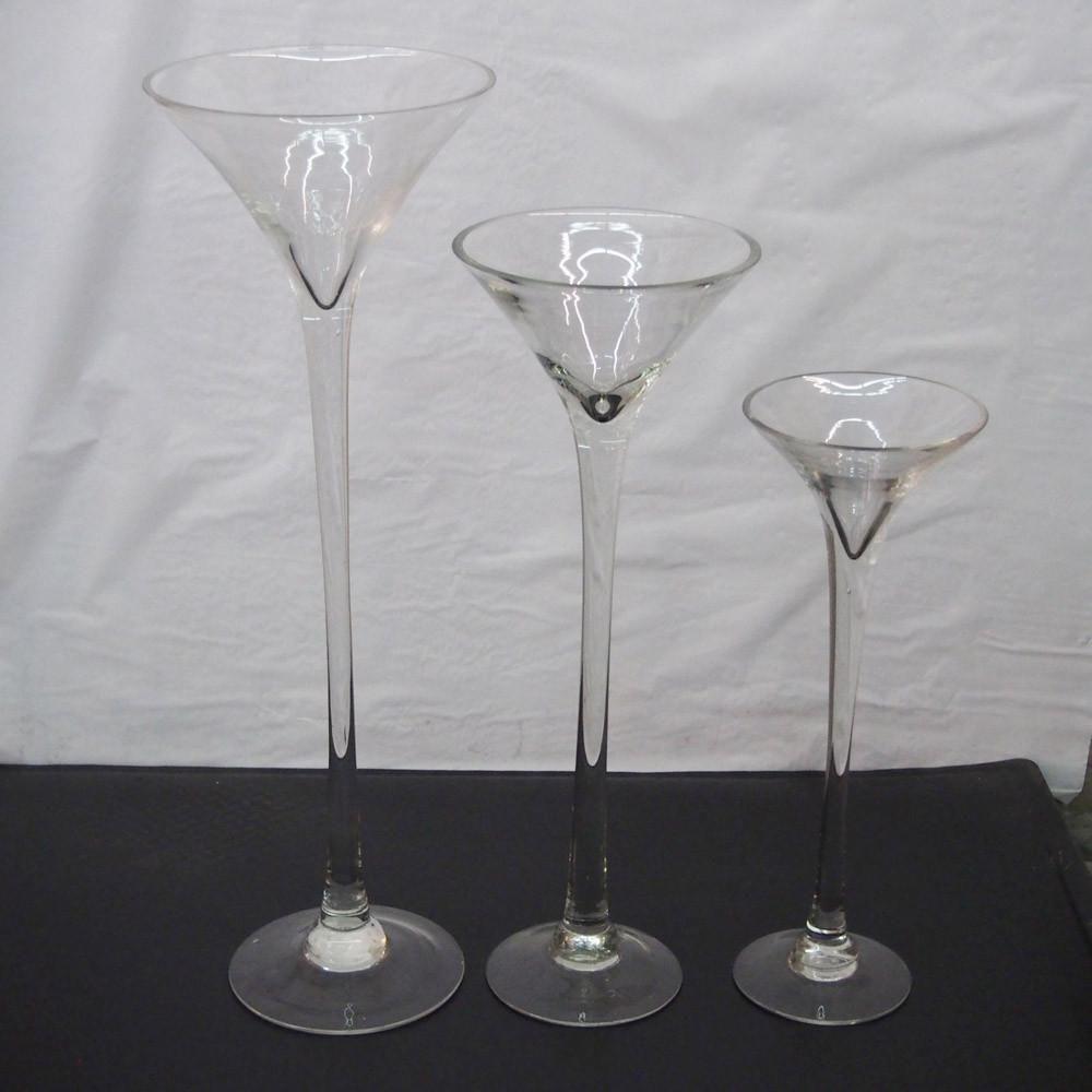 Jumbo Martini Glass Vase Wedding Centerpiece Wedding Flowers