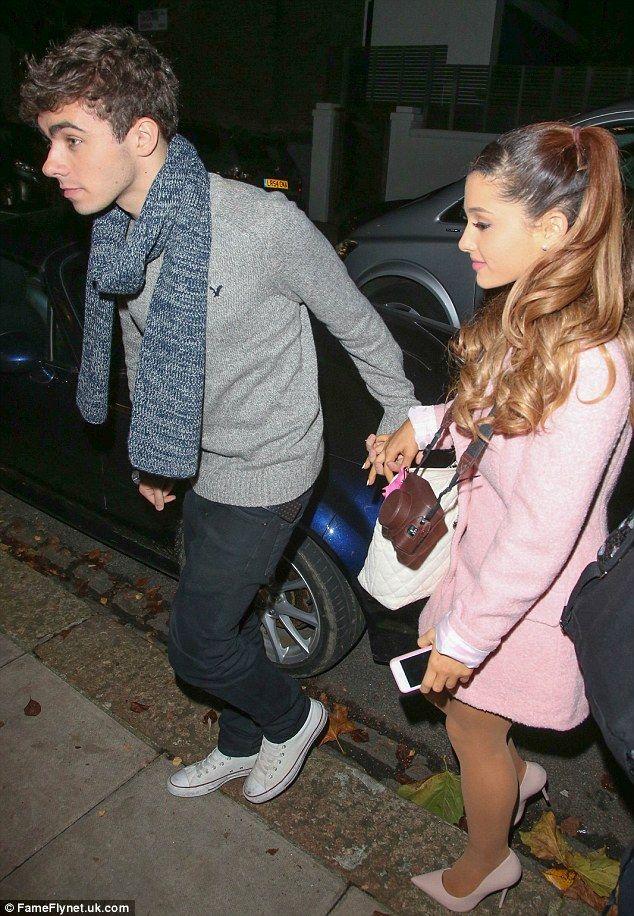 Ariana grande dating list