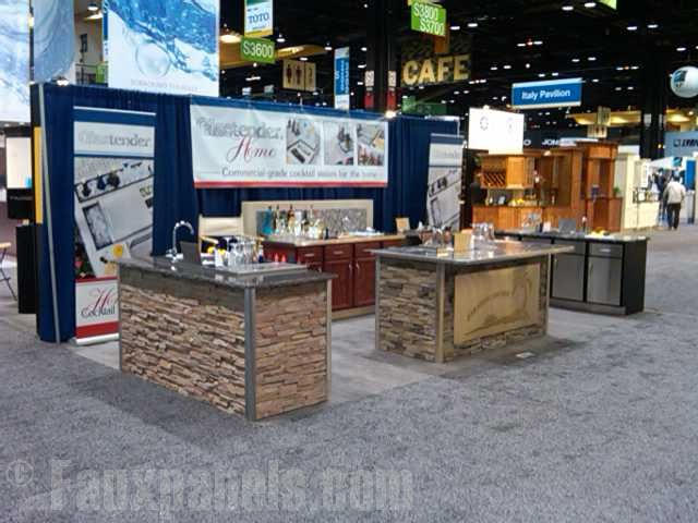 Beautiful kitchen trade show portable kitchen for Show me beautiful kitchens