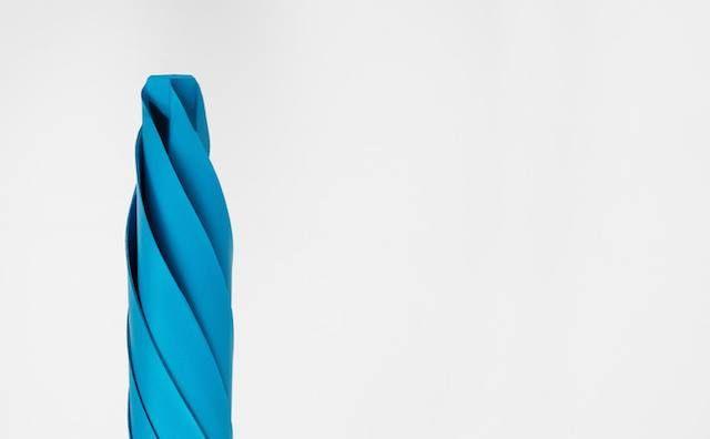 The Sa, paraguas que imita el diseño origami Creado por Justin
