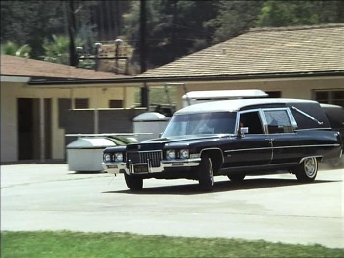 Cadillac Miller Meteor Funeral Car