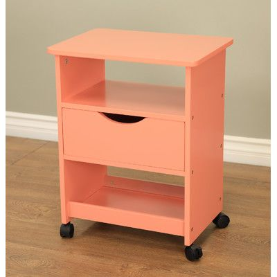 All Purpose Rolling End Table With Images Rolling Cart With Drawers Rolling Cart End Tables