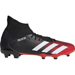 Adidas Herren Fußballschuhe Predator 20.3 Fg, Größe 45 ? In Cblack/ftwwht/actred, Größe 45 ? In Cbla