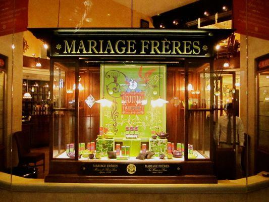 Mariage Freres tea 30 Rue du Bourg Tibourg 75004 Paris France