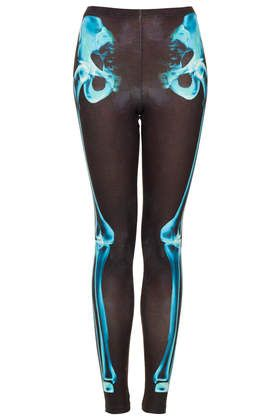a155d351cff74 X-Ray Skeleton Print Leggings - Leggings - Clothing   want ...