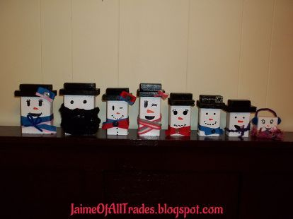 diy wooden snowmen made from wood scraps, christmas decorations, crafts, seasonal holiday decor, woodworking projects