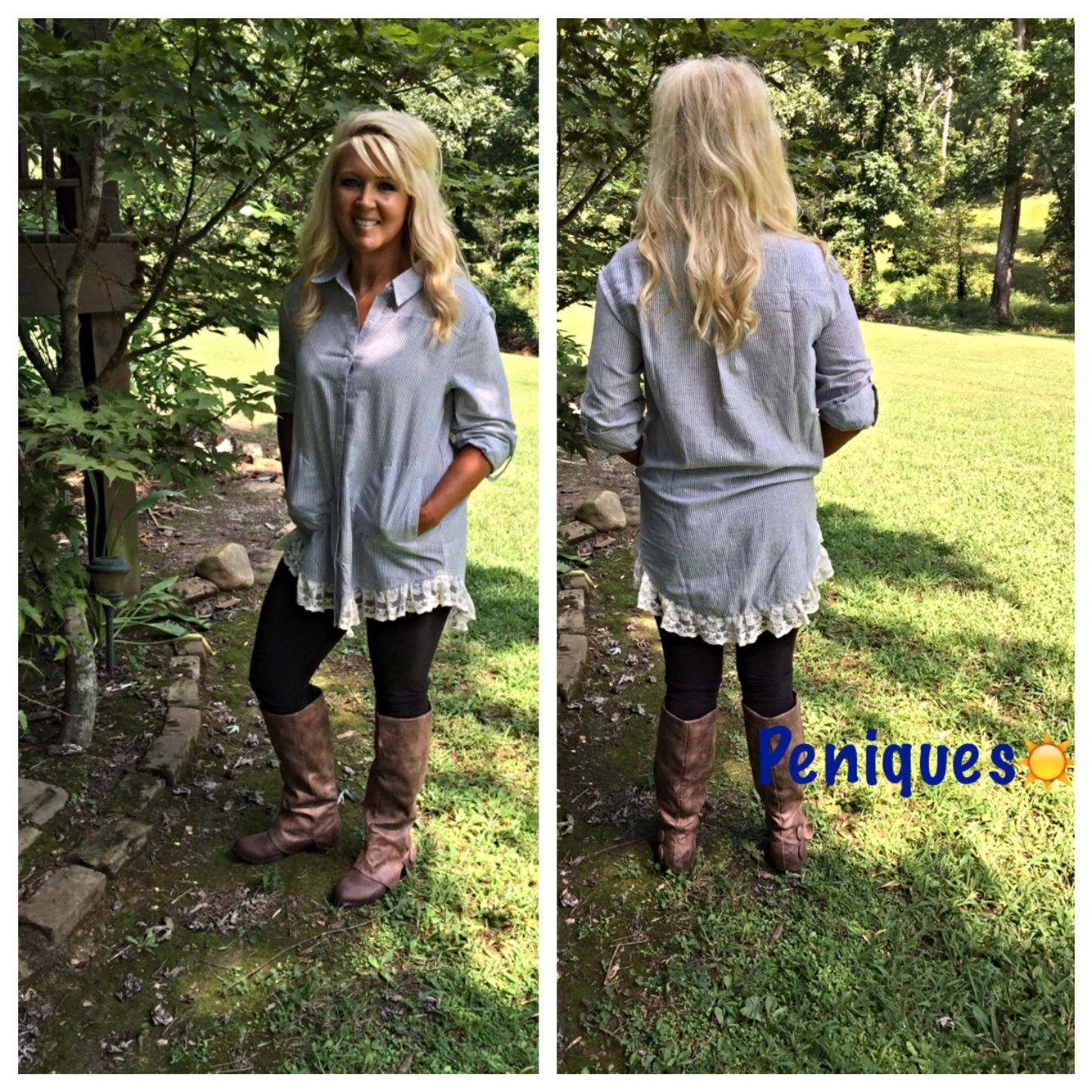 This tunic is so cute!