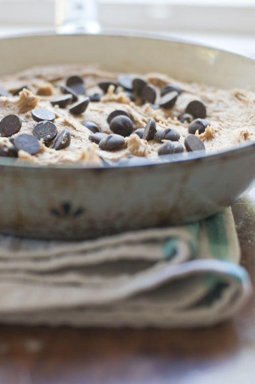 Fabulous gluten free chocolate chip skillet via@Susan Salzman(The Urban Baker)